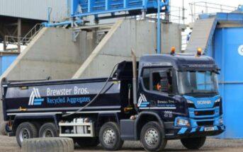 Brewster Bros introduces tracking for fleet and driver behavior (Foto: BigChange/Brewster)