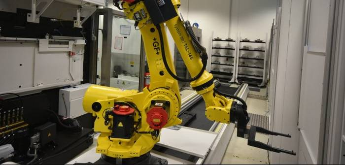 KLEINER Stanztechnik: Innovative manufacturing cell combines advantages of series production (Foto: KLEINER Stanztechnik)